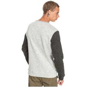 Quiksilver Keller Block Top Polar Cuello Redondo Hombre, gris